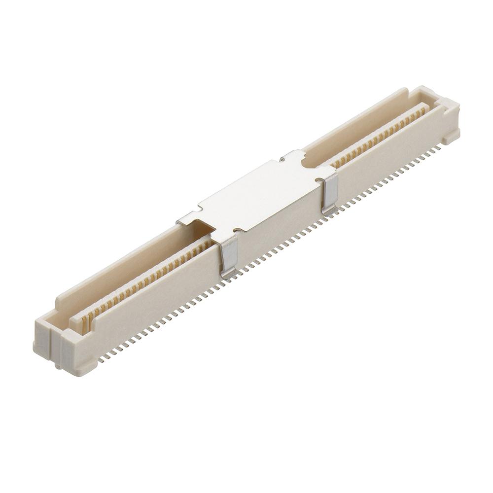 M58-3801242R - 120 Pos. Male DIL Vertical SMT Conn. (T+R)