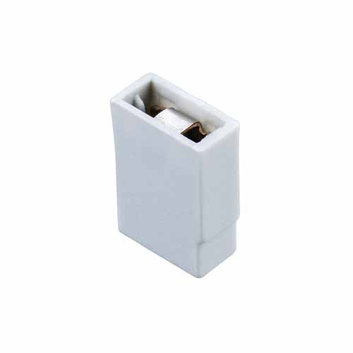 M7765-46 - 2 Pos. Female Jumper Socket, Closed Shunt, Grey