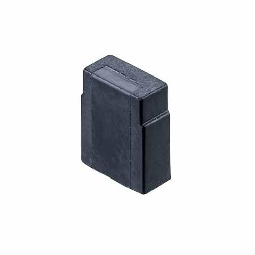 M7767-46 - 2 Pos. Female Jumper Socket, Closed Shunt, Black