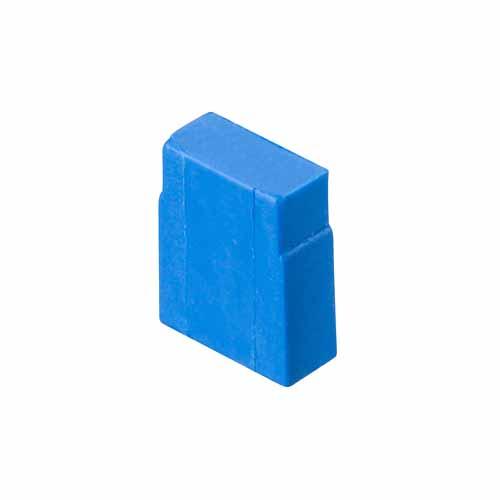 M7771-46 - 2 Pos. Female Jumper Socket, Closed Shunt, Blue