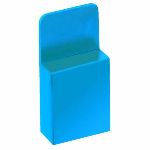 M7971-46 - 2 Pos. Female Jumper Socket, Handle Shunt, Blue