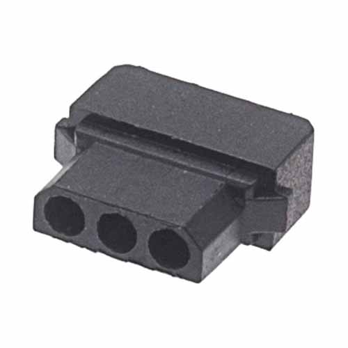 M80-1010398S - 3 Pos. Female SIL Cable Housing for Latches
