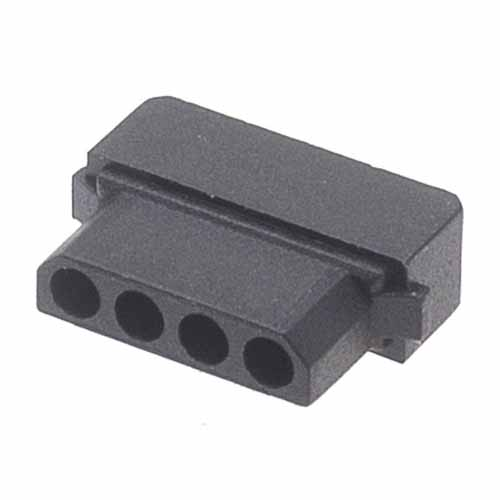 M80-1010498S - 4 Pos. Female SIL Cable Housing for Latches
