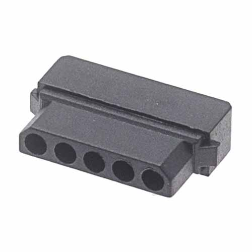 M80F1010598S - 5 Pos. Female SIL Cable Housing for Latches (Farnell)
