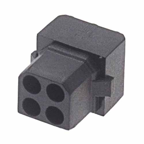 M80-1030498S - 2+2 Pos. Female DIL Cable Housing for Latches
