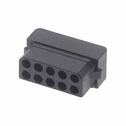 M80-1031098S - 5+5 Pos. Female DIL Cable Housing for Latches