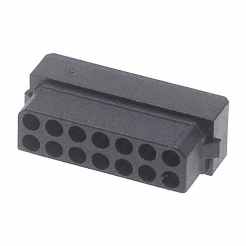 M80-1031498S - 7+7 Pos. Female DIL Cable Housing for Latches