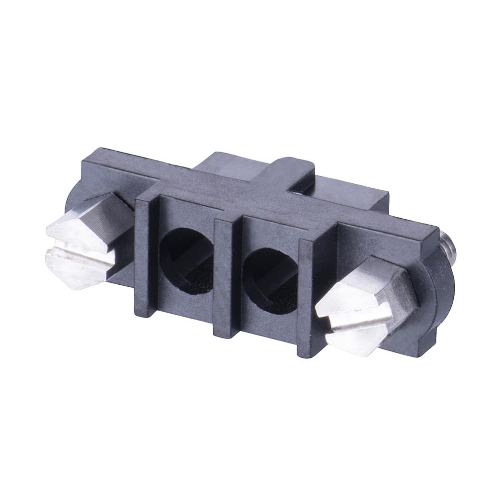 M80-263F102-00-00 - 2 Pos. Female SIL Cable Housing, Jackscrews