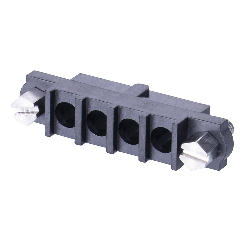 M80-263F104-00-00 - 4 Pos. Female SIL Cable Housing, Jackscrews