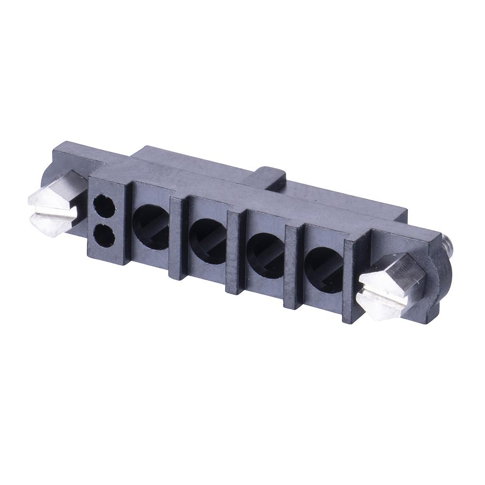 M80-263F104-02-00 - 2+4 Pos. Female Cable Housing, Jackscrews