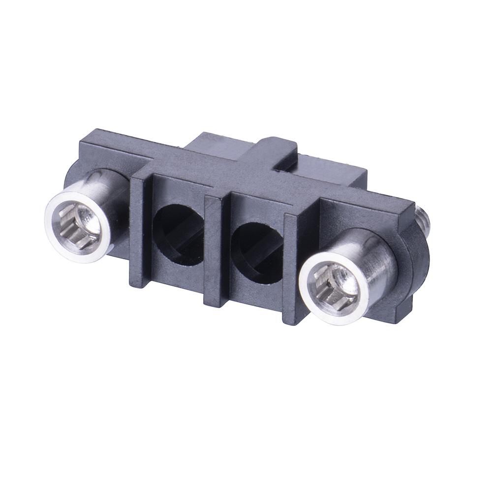 M80-263F202-00-00 - 2 Pos. Female SIL Cable Housing, Jackscrews