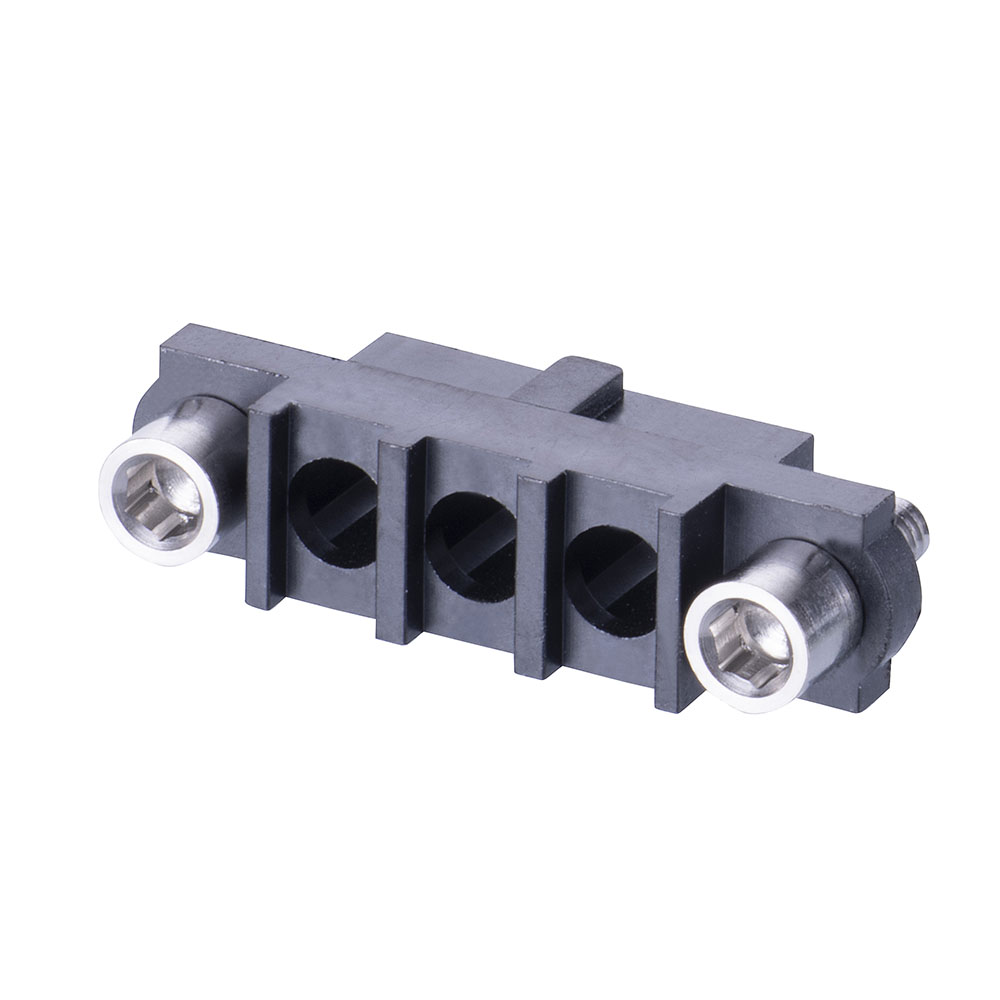 M80-263F203-00-00 - 3 Pos. Female SIL Cable Housing, Jackscrews