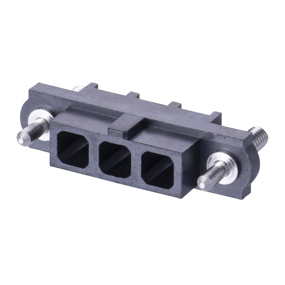 M80-263F303-00-00 - 3 Pos. Female SIL Cable Housing, Guide Pin