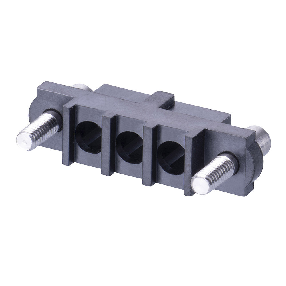 M80-263F903-00-00 - 3 Pos. Female SIL Cable Housing, Reverse Fix Panel Mount