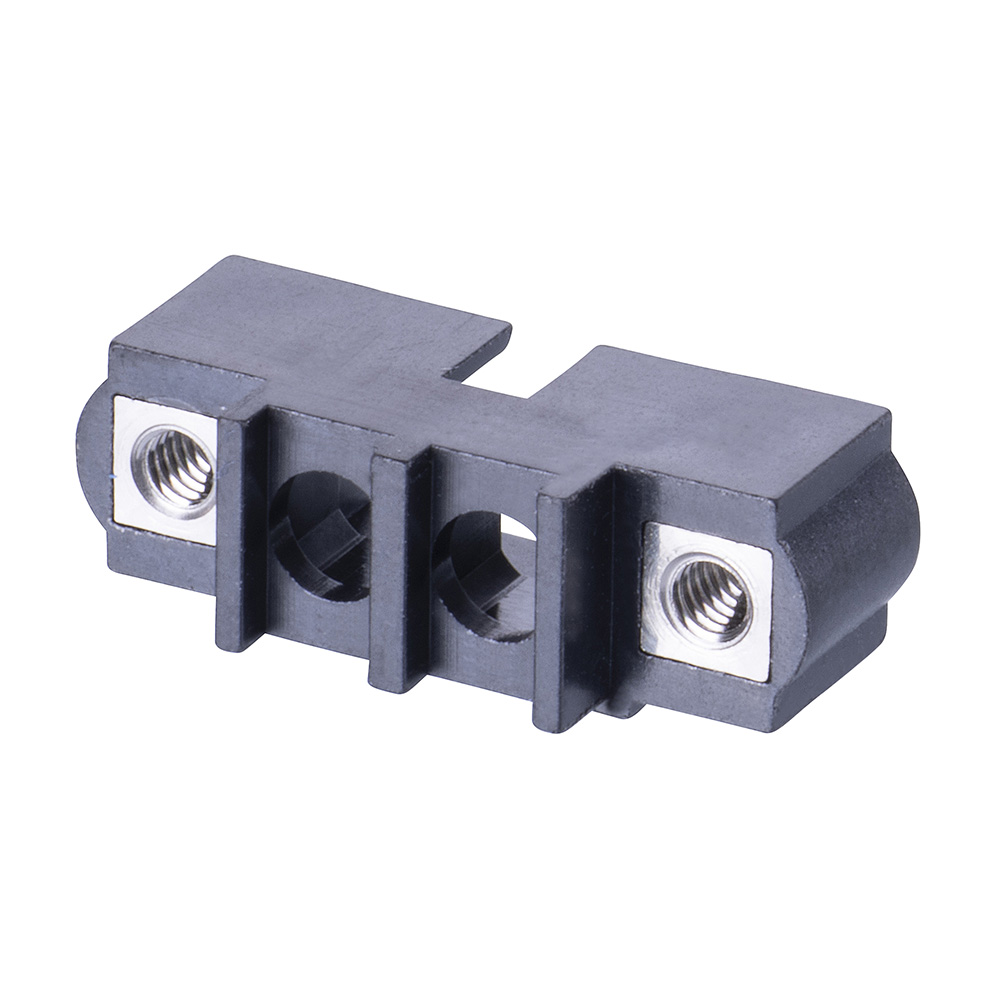 M80-273M102-00-00 - 2 Pos. Male SIL Cable Housing, Jackscrews