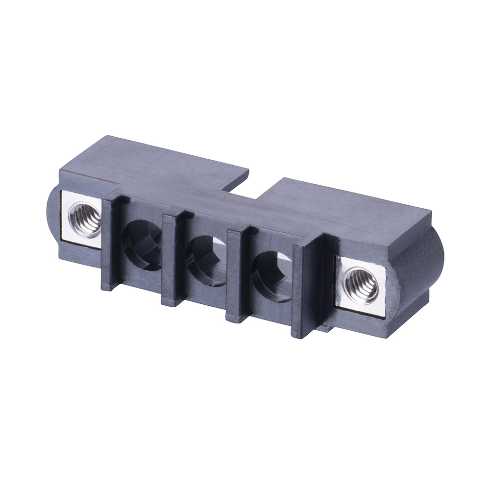 M80-273M103-00-00 - 3 Pos. Male SIL Cable Housing, Jackscrews