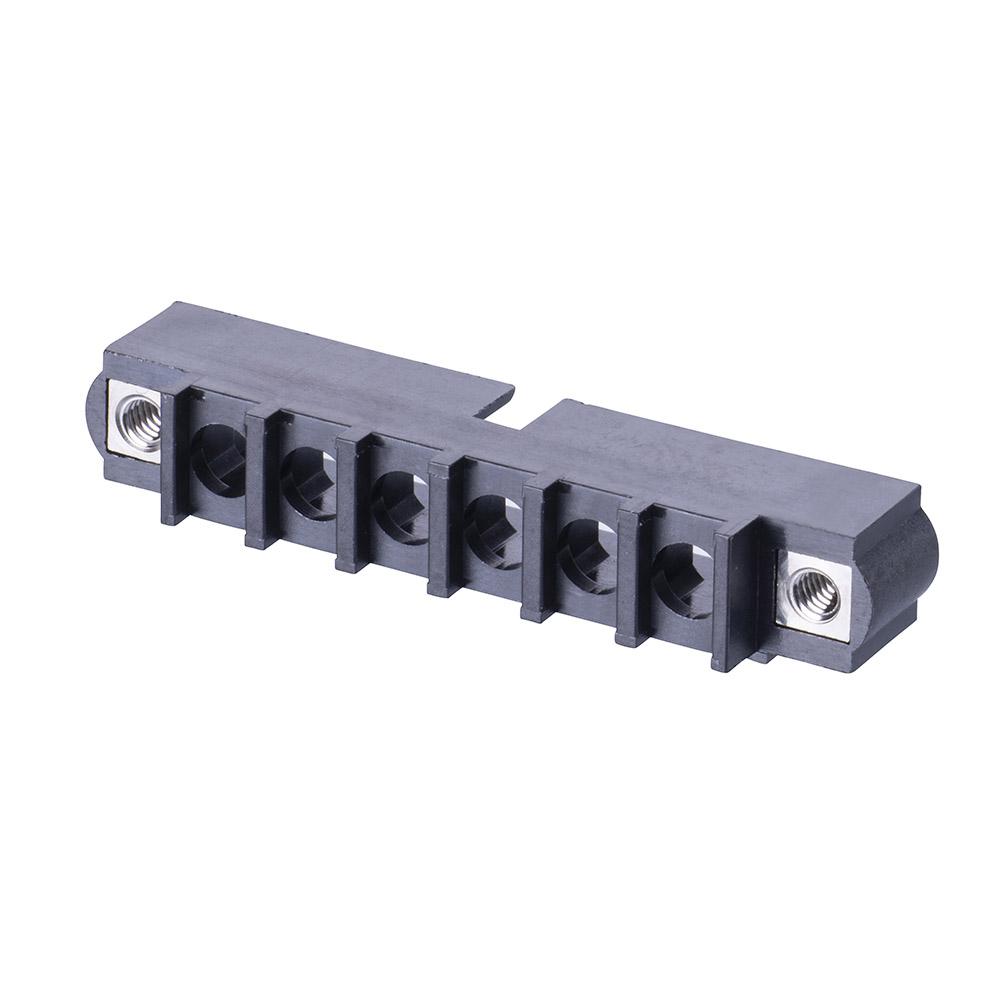 M80-273M106-00-00 - 6 Pos. Male SIL Cable Housing, Jackscrews