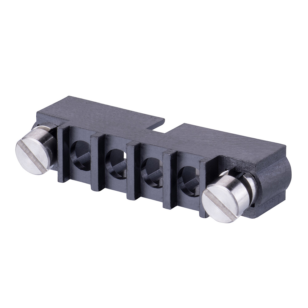 M80-273MA04-00-00 - 4 Pos. Male SIL Cable Housing, Reverse Fix