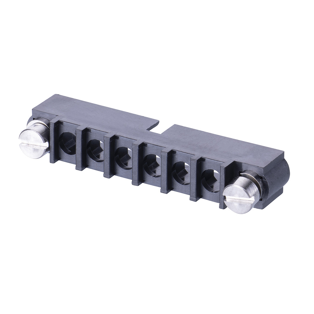M80-273MA06-00-00 - 6 Pos. Male SIL Cable Housing, Reverse Fix
