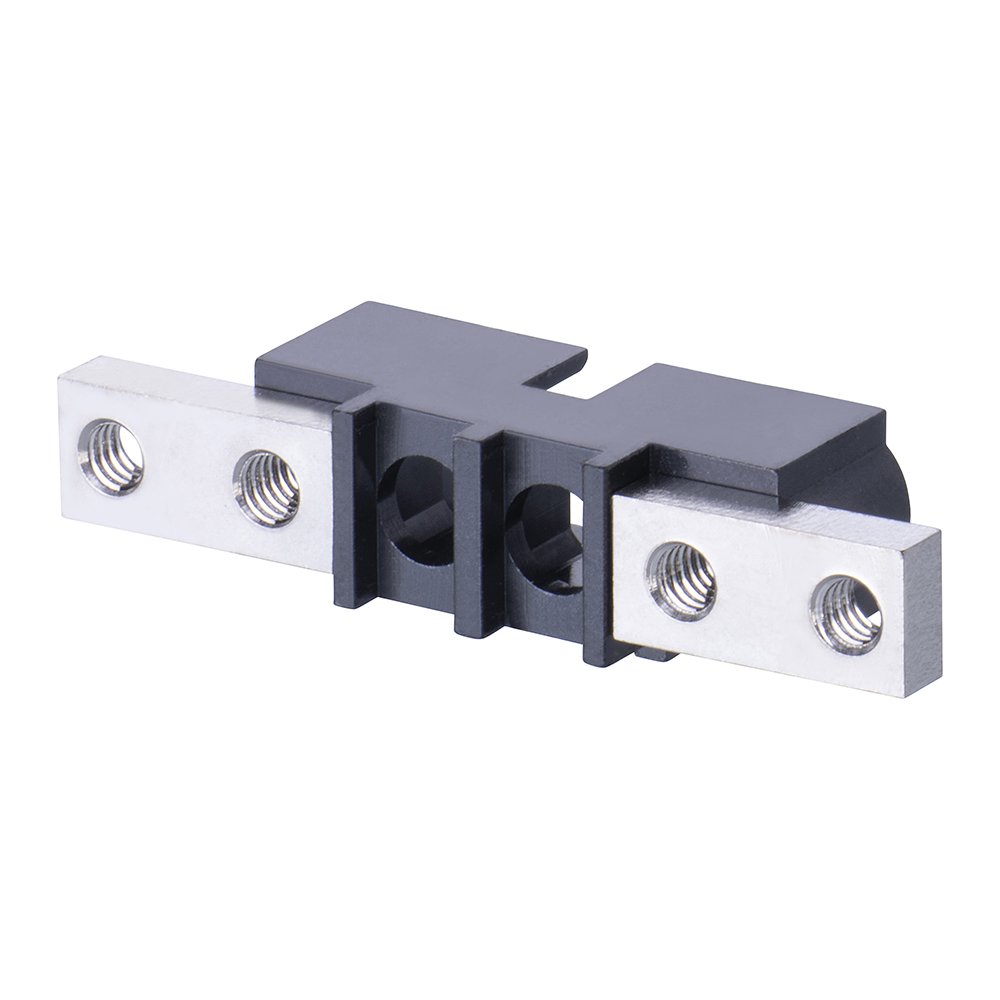 M80-273MU02-00-00 - 2 Pos. Male SIL Cable Housing, Panel Mount