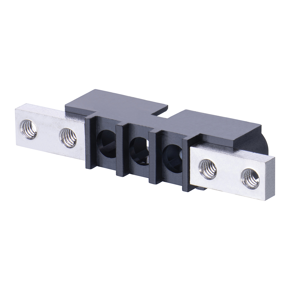M80-273MU03-00-00 - 3 Pos. Male SIL Cable Housing, Panel Mount