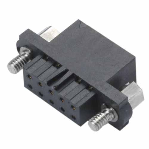 M80-4550898 - 4+4 Pos. Female DIL Cable Housing, Jackscrews