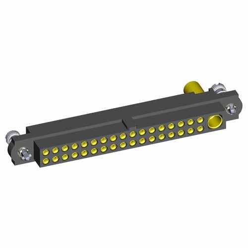 M80-4C13405FC-00-000-01-325 - 34+1 Pos. Female 24-28AWG+12AWG Cable Conn. Kit, 101Lok