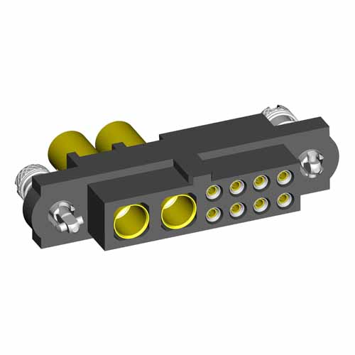 M80-4D10842FC-02-325-00-000 - 8+2 Pos. Female 22AWG+12AWG Cable Conn. Kit, 101Lok