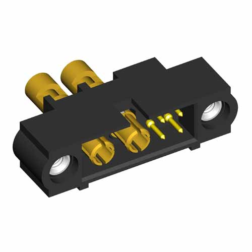 M80-5D10405M1-00-000-02-337 - 4+2 Pos. Male 22AWG+16AWG Cable Conn. Kit, Jackscrews