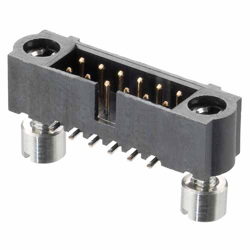 M80-5S15022ME - 25+25 Pos. Male DIL Vertical SMT Conn. 101Lok