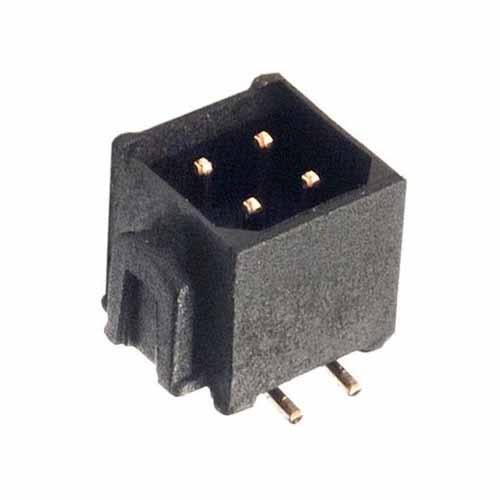 M80-8260422P - 2+2 Pos. Male DIL Vertical SMT Conn. No Latches (P+P)