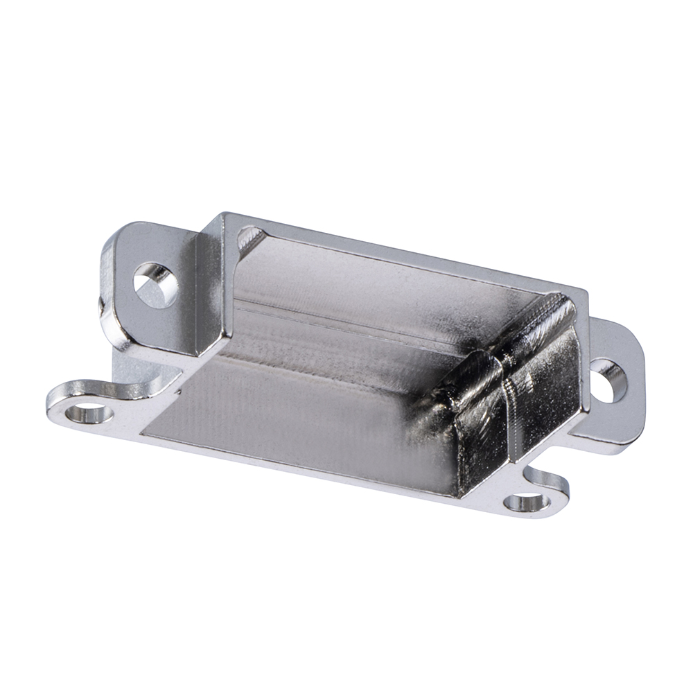 M80-9051002 - 5+5 Pos. Male Horizontal Metal Backshell for J-Tek or Mix-Tek, Panel Mount