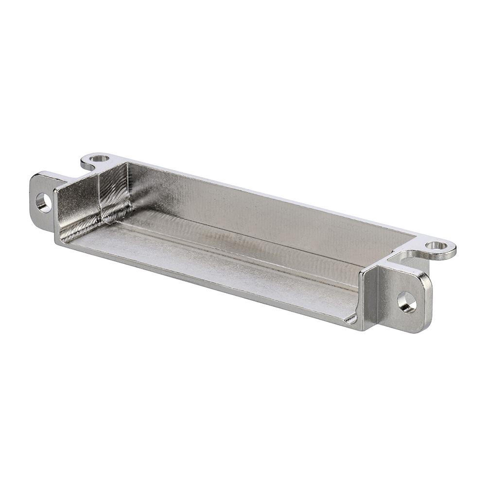 M80-9053602 - 18+18 Pos. Male Horizontal Metal Backshell for J-Tek or Mix-Tek, Panel Mount
