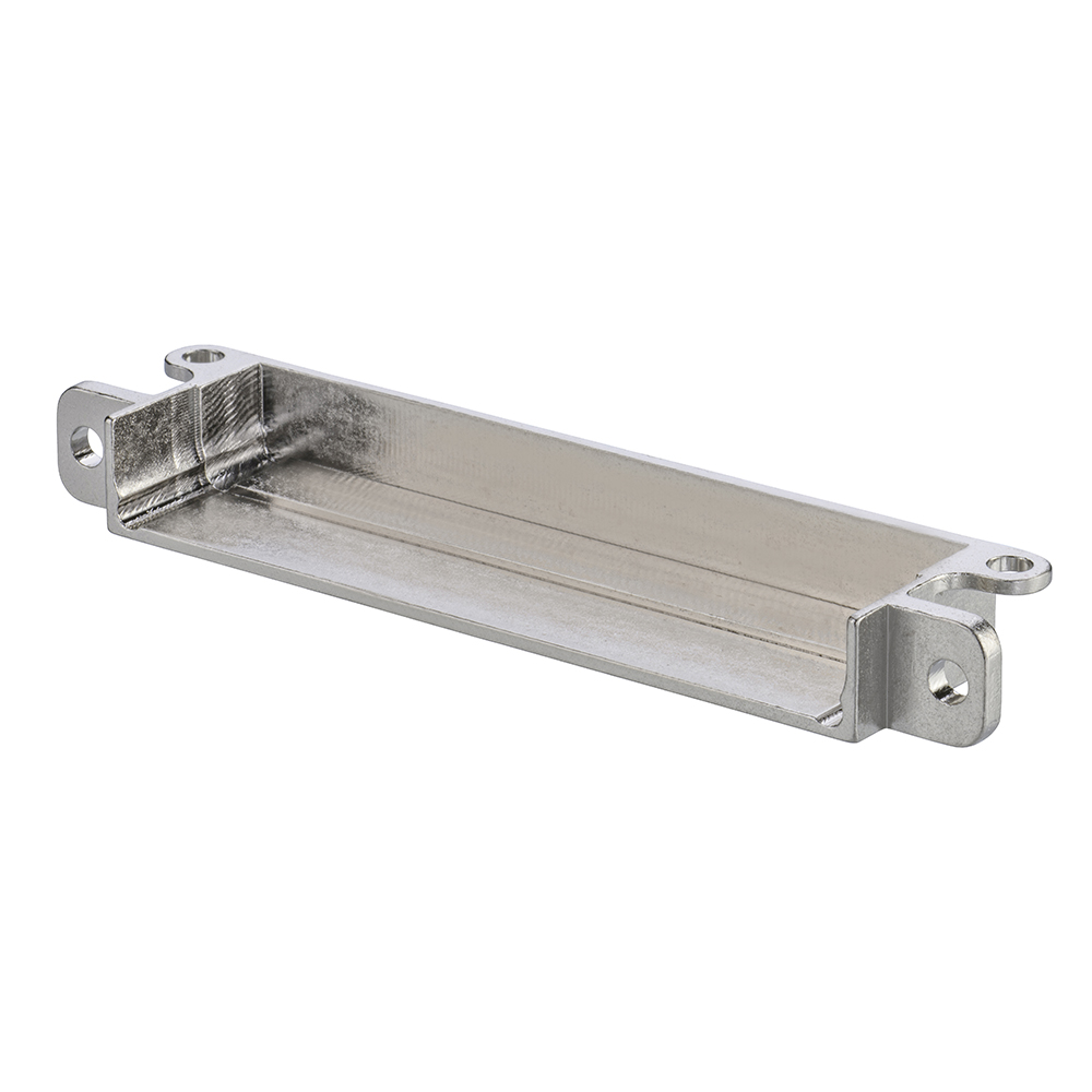 M80-9054602 - 23+23 Pos. Male Horizontal Metal Backshell for J-Tek or Mix-Tek, Panel Mount