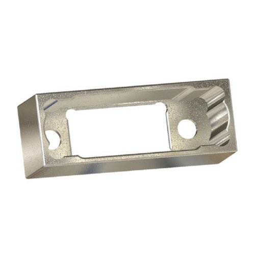 M80-9064402 - 22+22 Pos. Male Metal Backshell for J-Tek or Mix-Tek