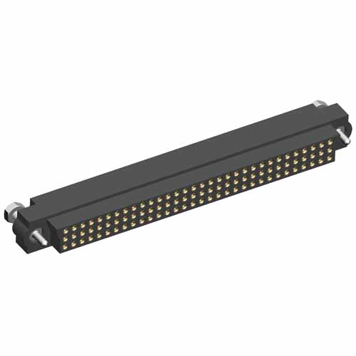 M83-LFD1FHN96-0000-000 - 32 x 3-Row Female 22AWG Cable Conn. Kit, Guide Pin
