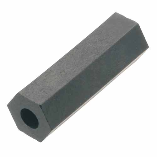 R1812B91 - 10.00mm Through-Hole Hex Plastic Spacer/Pillar (RS)