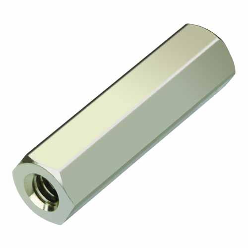 R6392-02 - 9.52mm M3 Metric Threaded Hex Brass Spacer/Pillar