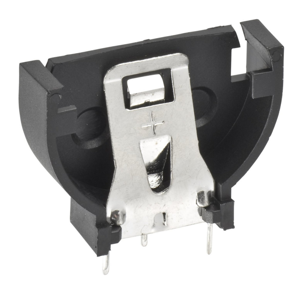 S8401-46 - Throughboard Battery Coin Cell Holder/Retainer