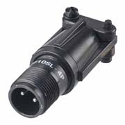 C90-3101F10SL-4P - 2 Pos. Circular Cable Conn. Plug contact