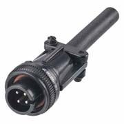 C90-3106F14S-2P - 4 Pos. Circular Straight Plug Conn. Plug contact