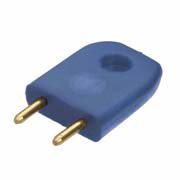 D3086-97 - Male Insulated 5.08mm Shorting Link, Blue