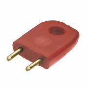 D3086-99 - Male Insulated 5.08mm Shorting Link, Red