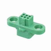 G125-224069600 - 3+3 Pos. Female DIL Cable Housing, no Screw-Lok