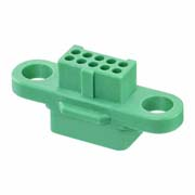 G125-224109600 - 5+5 Pos. Female DIL Cable Housing, no Screw-Lok
