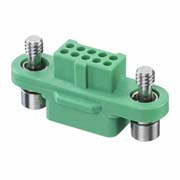 G125-2241096F1 - 5+5 Pos. Female DIL Cable Housing, Screw-Lok