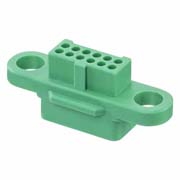 G125-224129600 - 6+6 Pos. Female DIL Cable Housing, no Screw-Lok