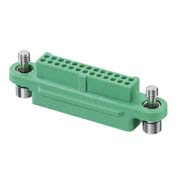 G125-2242696F1 - 13+13 Pos. Female DIL Cable Housing, Screw-Lok