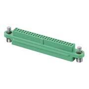 G125-2245096F1 - 25+25 Pos. Female DIL Cable Housing, Screw-Lok