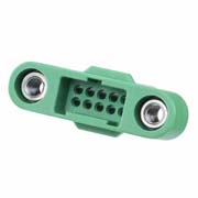 G125-3241096M1 - 5+5 Pos. Male DIL Cable Housing, Screw-Lok